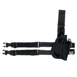 Beenholster de luxe rechtshandig nylon zwart 355402