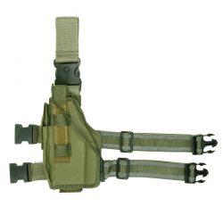Beenholster ultimate linkshandig nylon groen 355407
