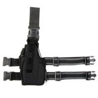 Beenholster ultimate linkshandig nylon zwart 355407