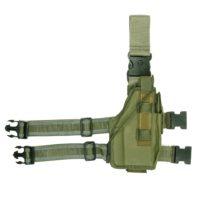Beenholster ultimate rechtshandig nylon groen 355406