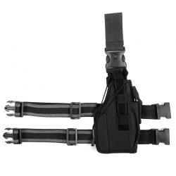 Beenholster ultimate rechtshandig nylon zwart 355406