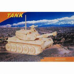 Bouwpakket tank hout 3d puzzel 412312