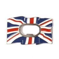 Buckle gesp Engelse vlag UK met flesopener 245111-1904