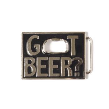Buckle gesp Got beer met flesopener 245111-1901