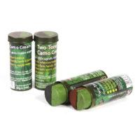 Camouflage schmink in stick 30gr zwart-groen 46311174A