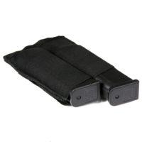 Magazijn pouch elastisch dubbel nylon zwart 359945-detail2