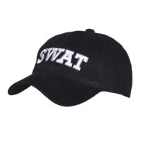 Pet baseball cap SWAT zwart 215150-220