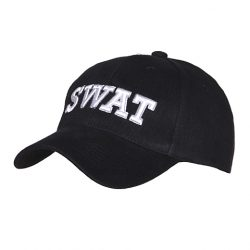Pet baseball cap SWAT zwart 215150-220