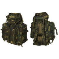 Rugzak commando woodland camo katoen 35160051A