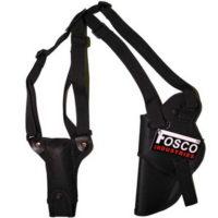 Schouderholster luxe nylon Fosco 355403