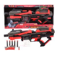 Serve & Protect shooter mega 54cm met 10 pijlen 412504