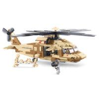 Sluban bouwset Black Hawk helicopter M38-B0509 413130