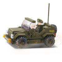 Sluban bouwset Jeep M38-B0296 413118