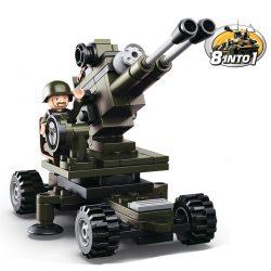 Sluban bouwset artillery M38-B0587E 413227