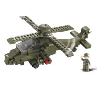Sluban bouwset attack helicopter M38-B0298 413120