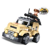 Sluban bouwset patrol car M38-B0587A 413232