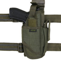 Tactical been holster rechts nylon-polyester 101INC 355408-detail