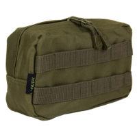 Utility pouch 21x8x12cm nylon groen 47338311A