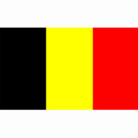 Vlag België BE 100x150cm