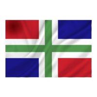 Vlag Groningen GR 100x150CM